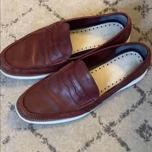 Cole Haan maroon colored loafers size 11